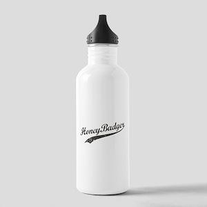 Team Honey Badger [b/w] Stainless Water Bottle 1.0